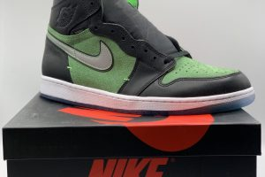 Air Jordan Retro 1 High Zoom Zen Green